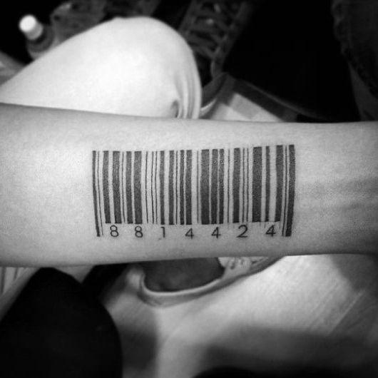 30 Del Codigo De Barras Disenos De Tatuajes Para Los Hombres