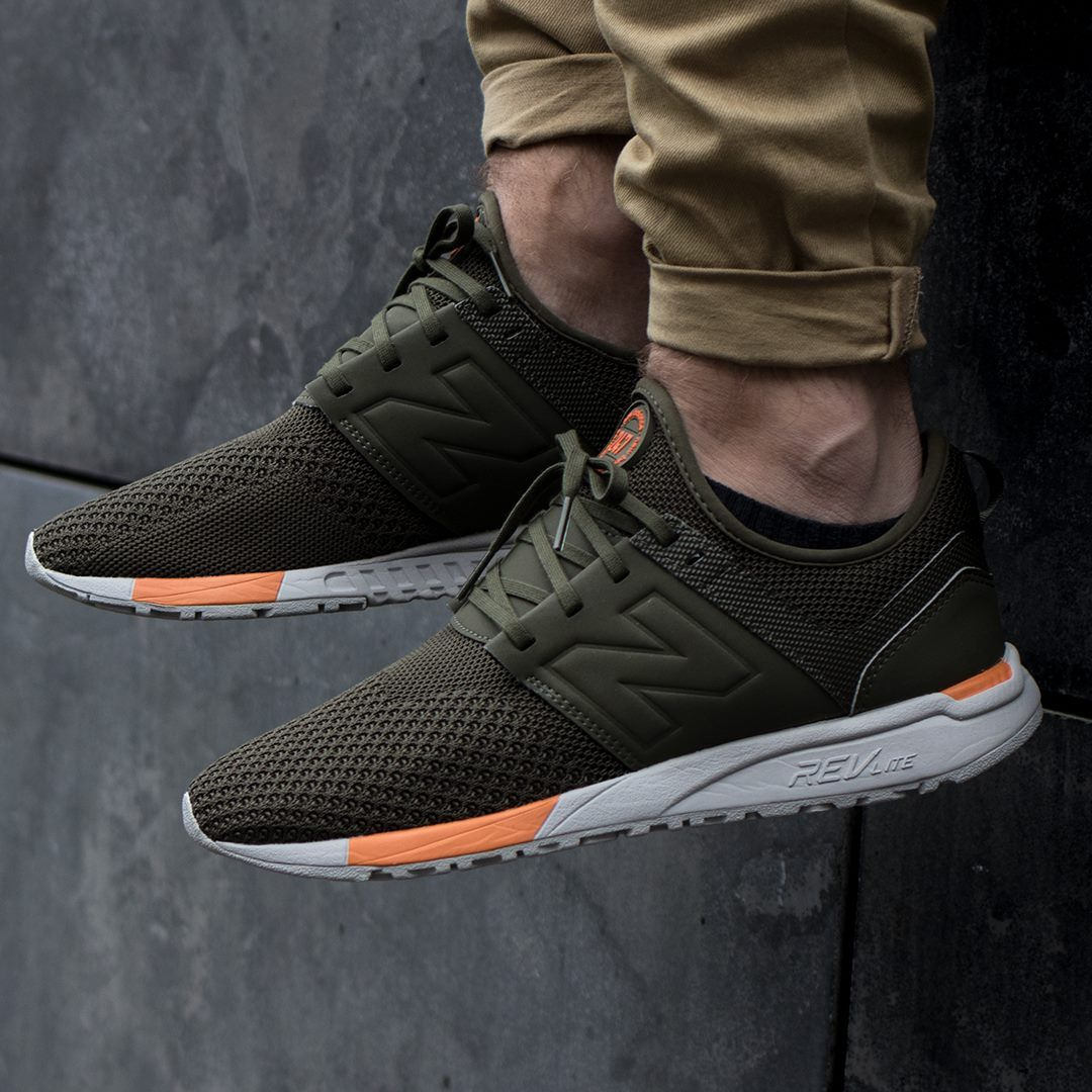 new balance 247 army green