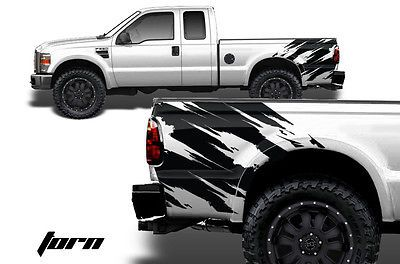 Ford F250 F350 Super Duty 4x4 Graphic Vinyl Decal Part Power Stroke Diesel Turbo Ford Raptor Truck Ford Raptor Svt Ford Raptor
