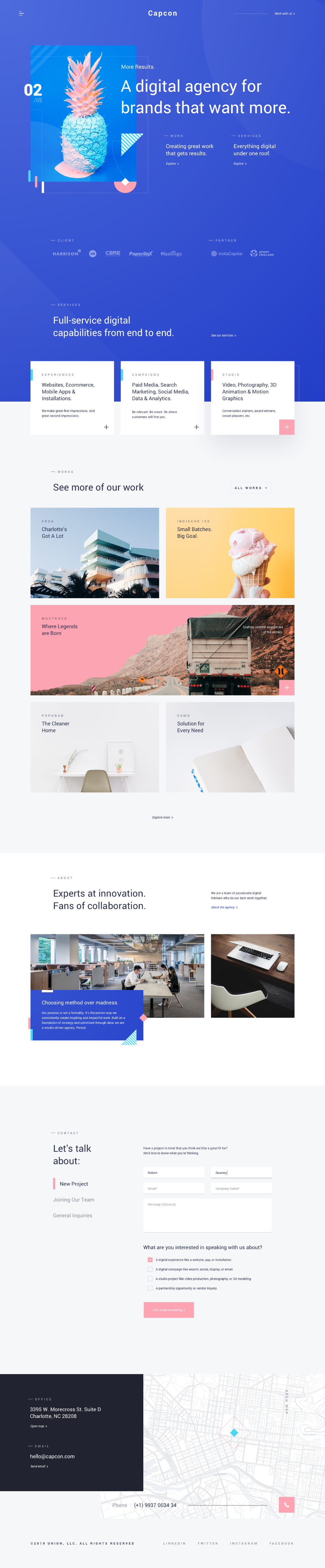 Dribbble Capcon Home Page 2 Png By Muh Salmon Web Design Jobs News Web Design Web Design User Interface