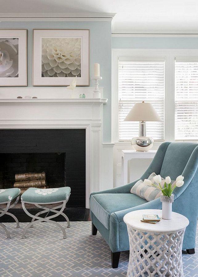 Favorite Spa Blue Paint Colors 2016. Blue Living RoomsLiving Room ... Part 36