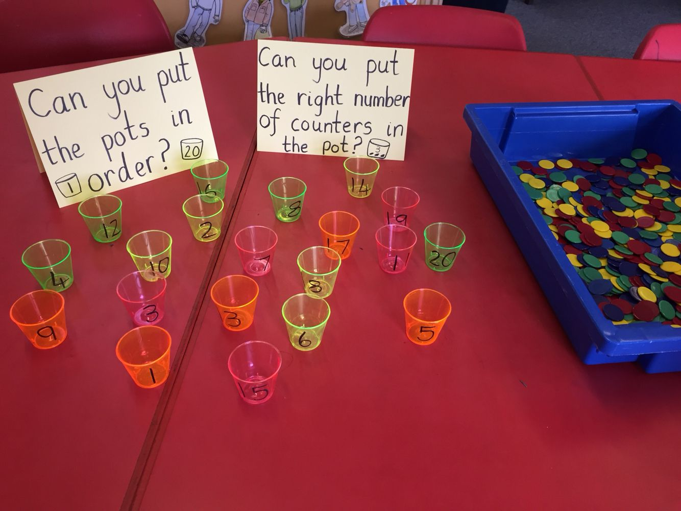 Number Recognition 1 20 Sequencing Matching Quantity To