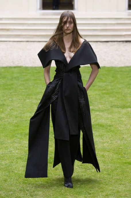 We Want to Wrap Ourselves in Rad Hourani's Second Couture Collection - Fashionista