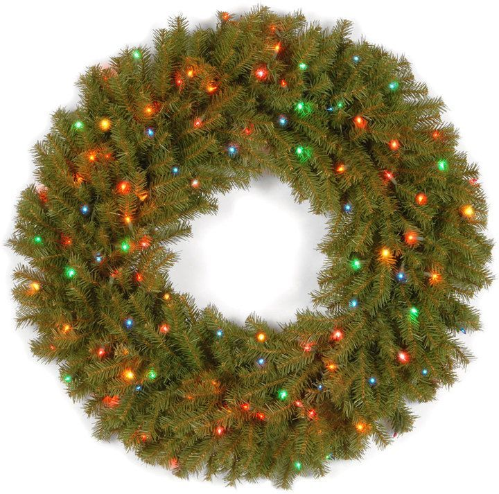 Kohls 36 in pre lit multicolor artificial norwood fir wreath pre lit multicolor artificial norwood fir wreath mozeypictures Choice Image