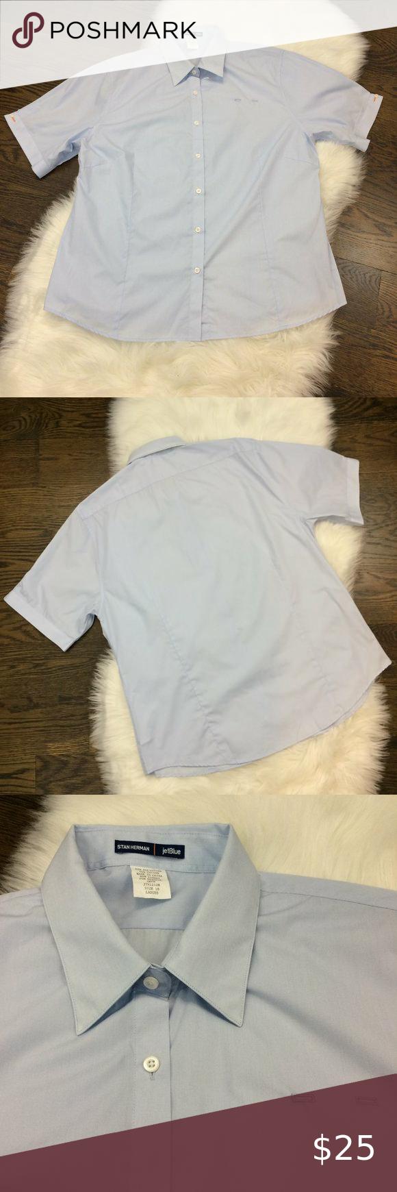 JetBlue Airlines Stan Herman Crew Shirt Ladies in 2020