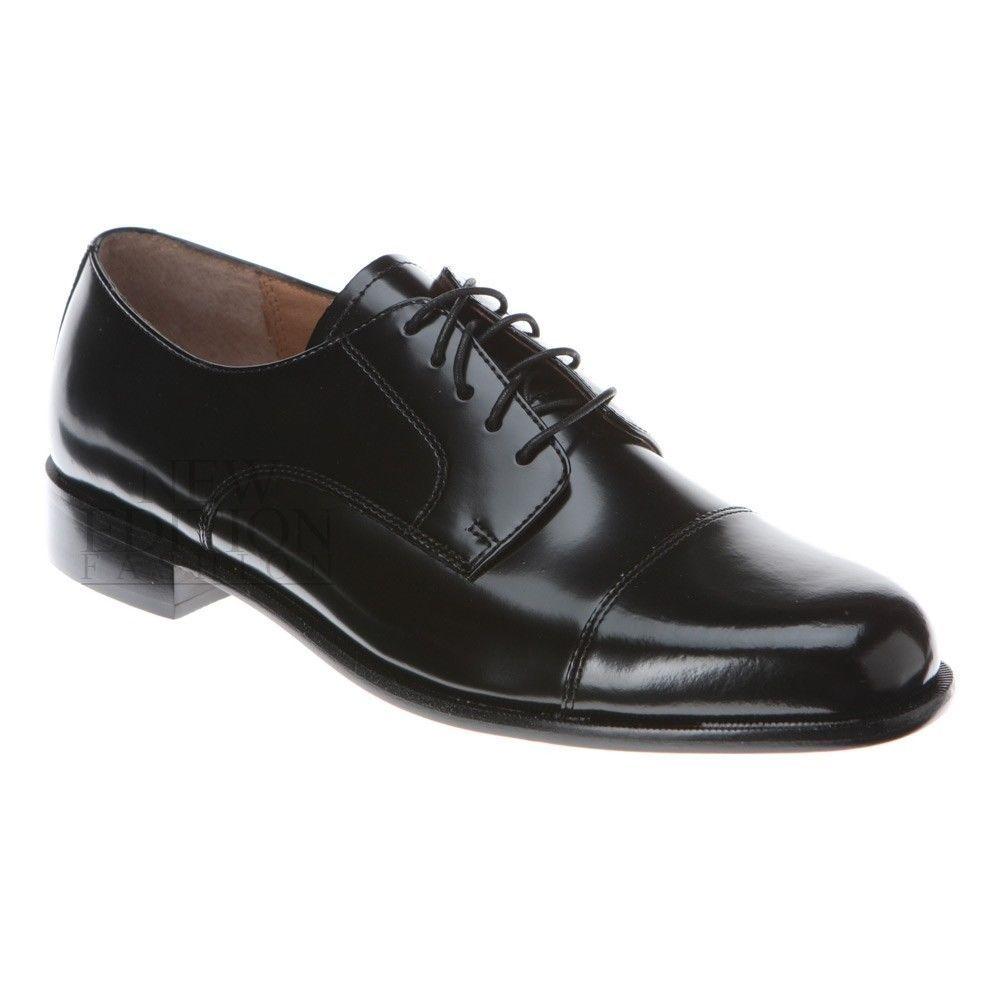 9b1ebc9eddb7 Bostonian Akron Men s Leather Oxford Cap Toe Dress Shoes Style 20390 Black