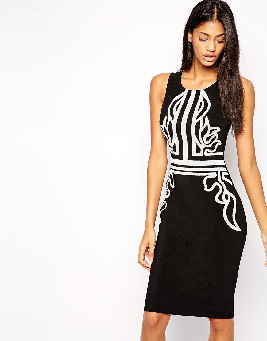 797e935e6413 Lipsy Baroque Body-Conscious Dress   Clothes  )   Pinterest ...