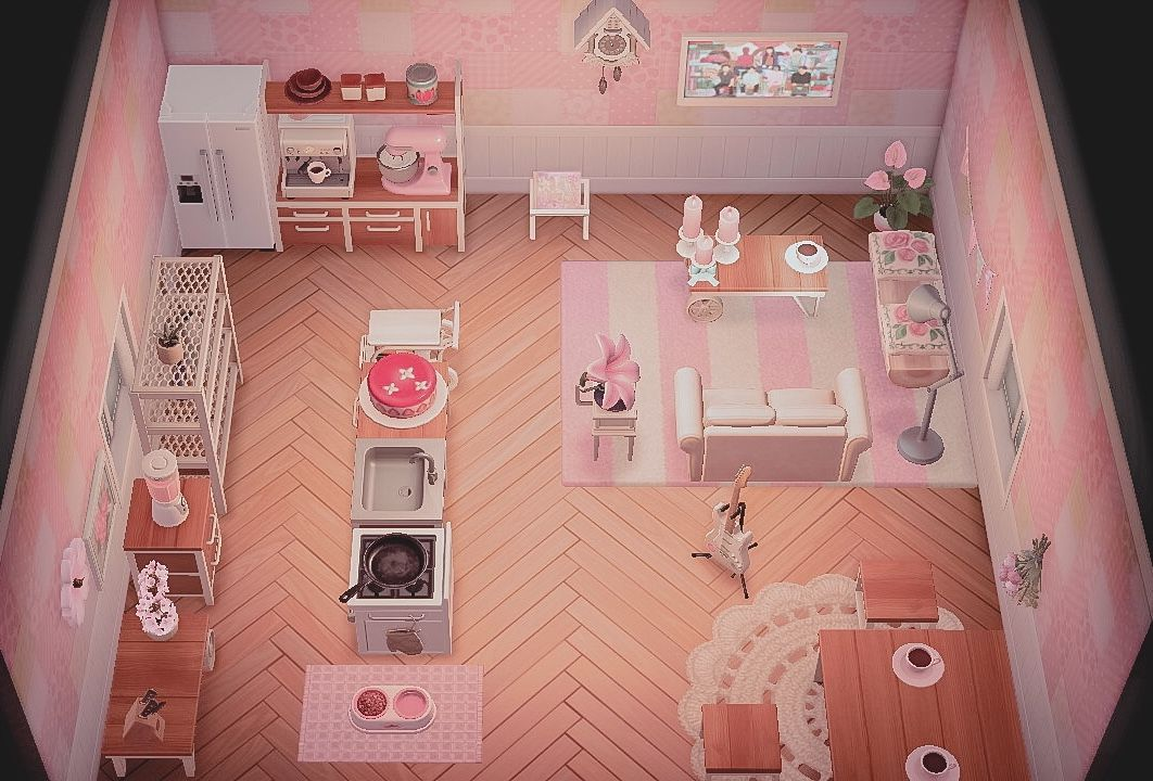 Animal Crossing New Horizons Ideas Home Indoor Inspo ... on Animal Crossing New Horizon Living Room Ideas  id=67219