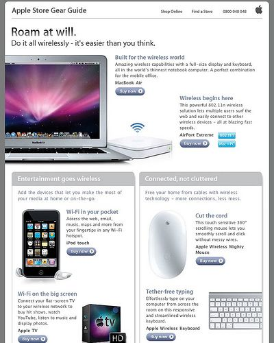 Apple Newsletter How To Write A Promo Email Apple Sets