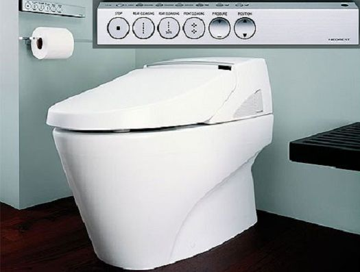 Wondrous Exceptional Bidet Toilet Combo Toto Decorating Ideas Gmtry Best Dining Table And Chair Ideas Images Gmtryco