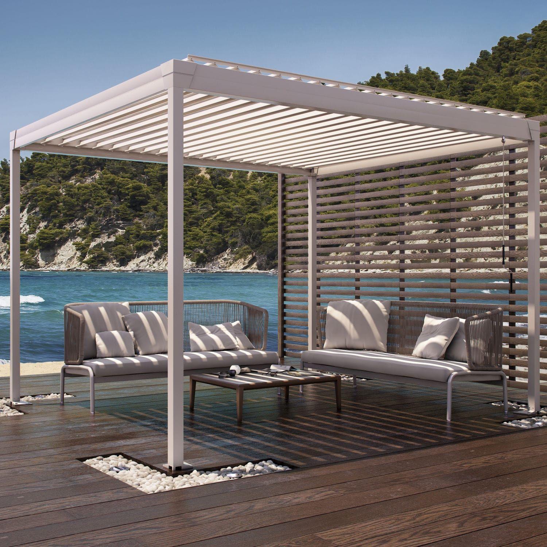 selbsttragende pergola aluminium bioklimatisch. Black Bedroom Furniture Sets. Home Design Ideas