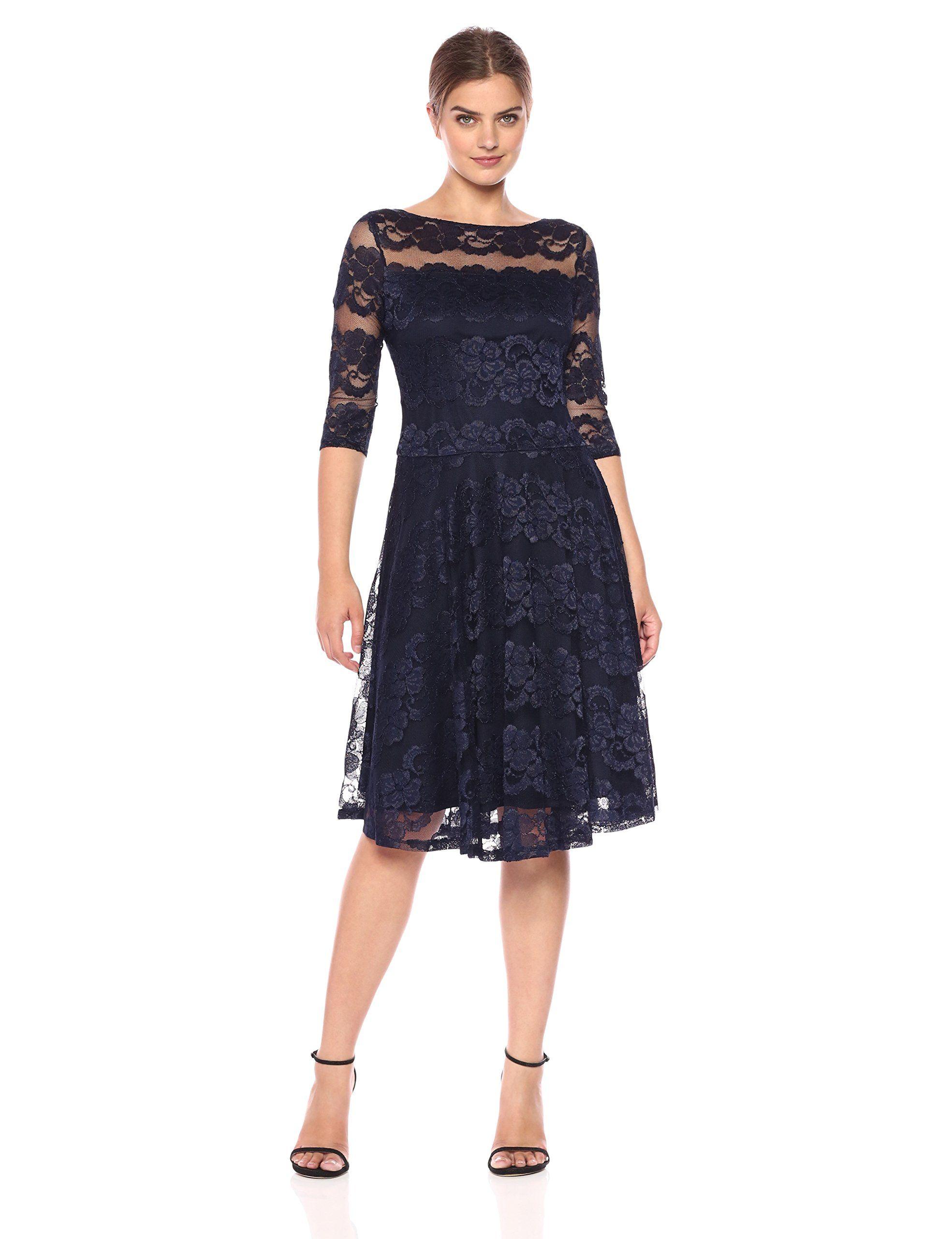 39d5873973c AMAZON Sangria Women s 3 4 Sleeve Sequin Lace Party Dress PRODUCT PAGE    https