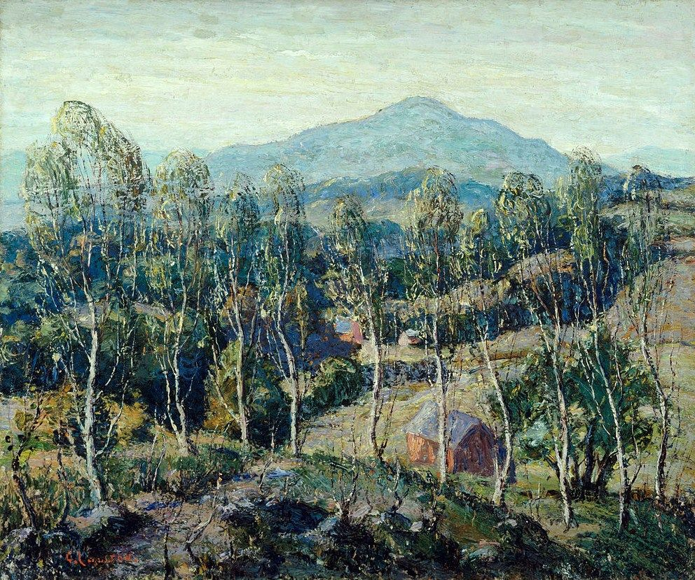 Ernest Lawson - New England Birches