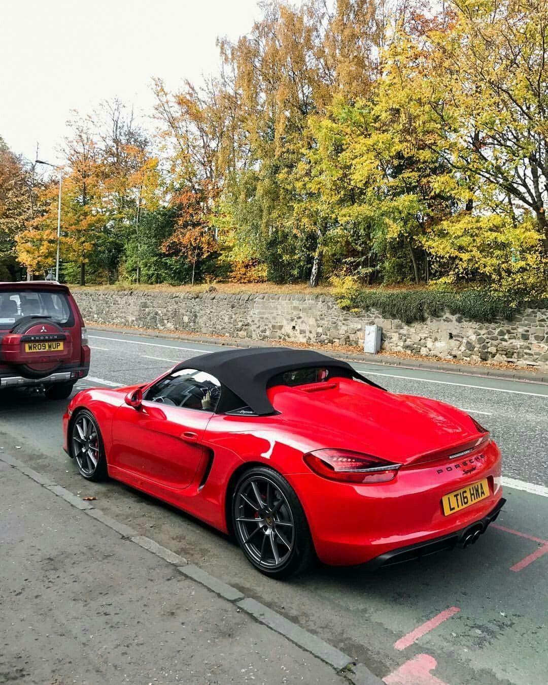 Awesome Boxster Spyder