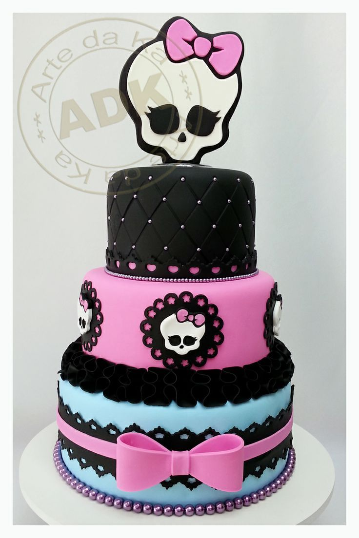 monster high birthday cake bolo decorado de 3 n 237 veis high bolos decorados 6004