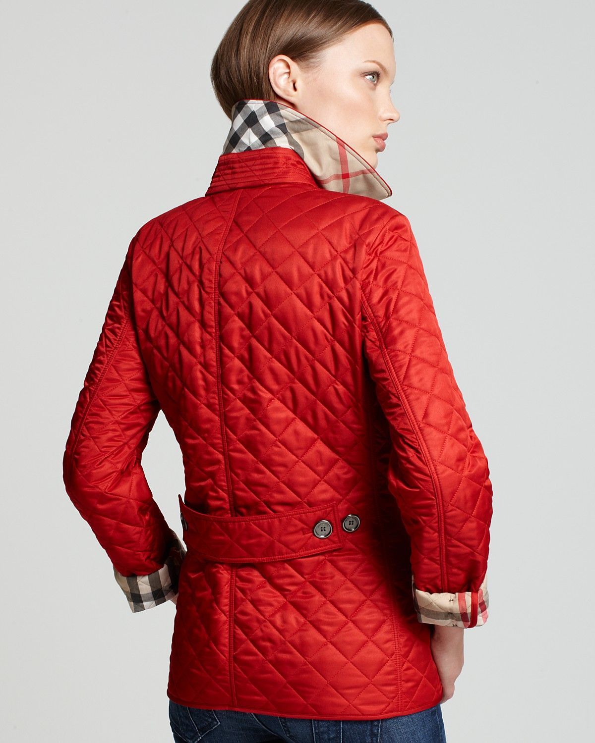 Burberry Brit Copford Quilted Jacket | Bloomingdale's | purchase ... : copford quilted jacket - Adamdwight.com