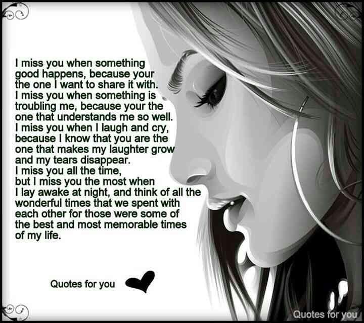 I Miss U And I Really Wanna Talk With U Every Moment. ..it