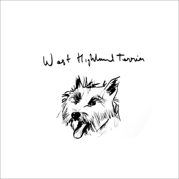 Image Of Rob Clarke W Is For West Highland Terrier West