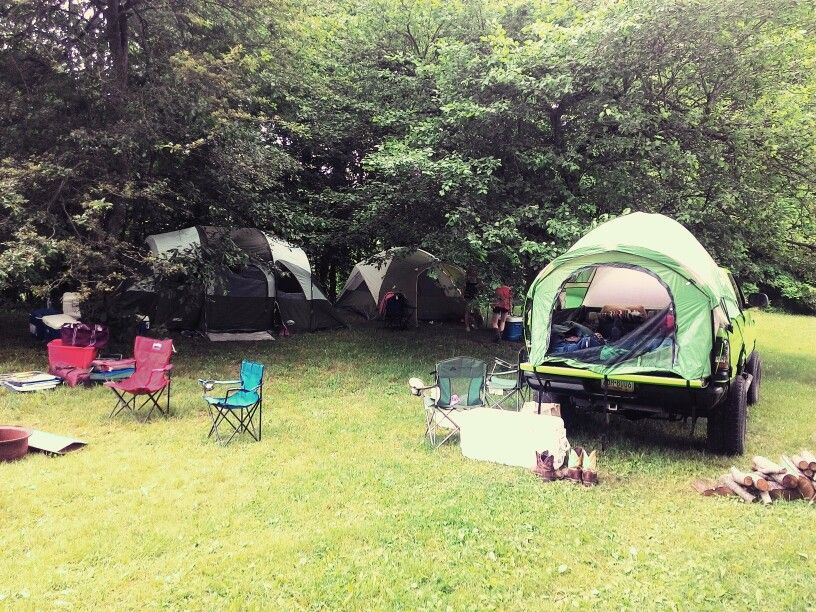 Country fest weekend this was home for 4 days #camping #countryfest