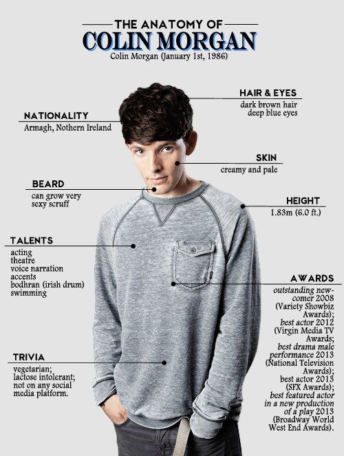 Colin Morgan on | Colin morgan, Fandoms and Fandom