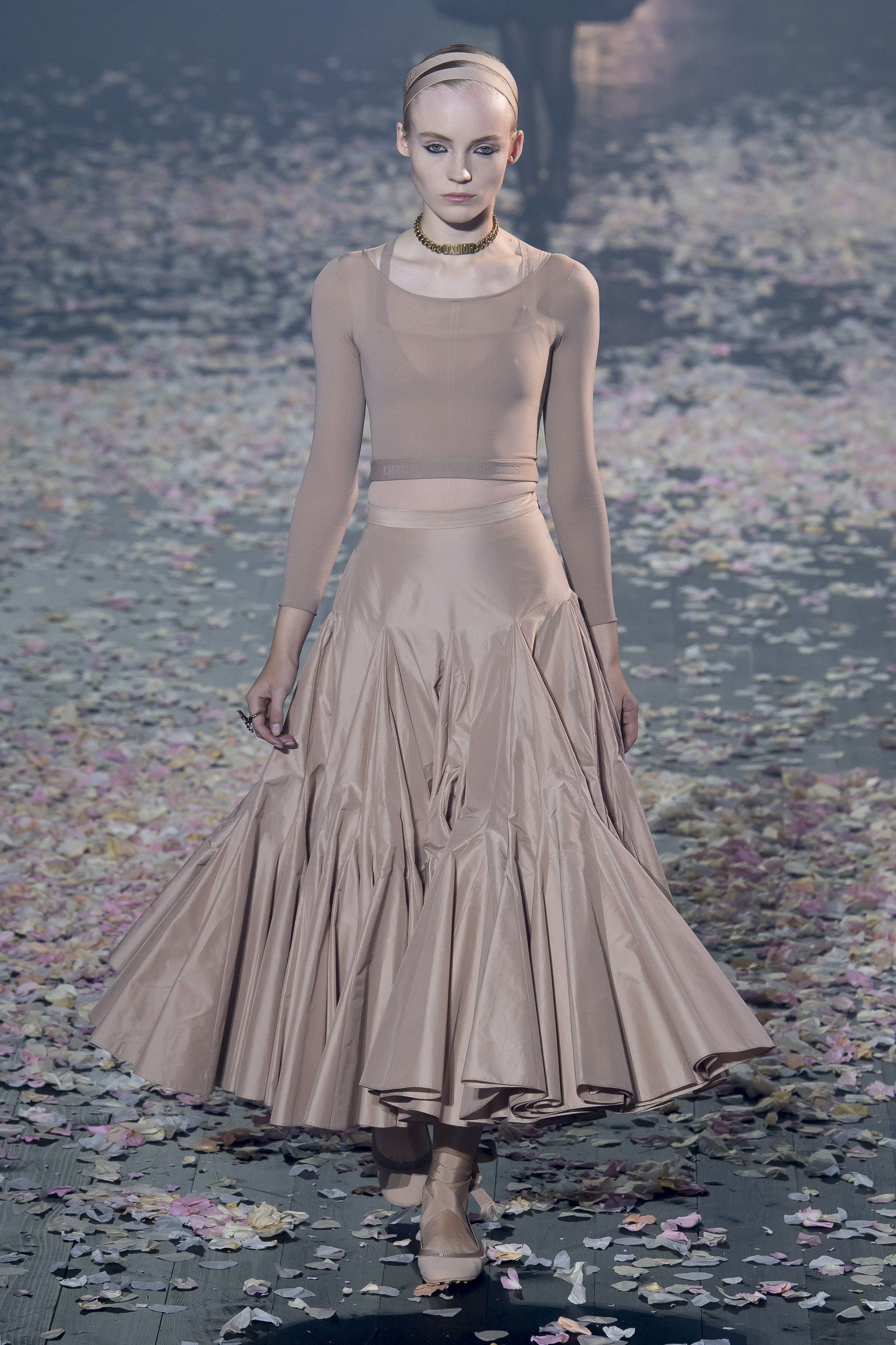 6962fda92c4b49 Christian Dior Spring 2019 Ready-to-Wear Collection - Monochrome soft  color. A simple fairytale ballerina vibe.
