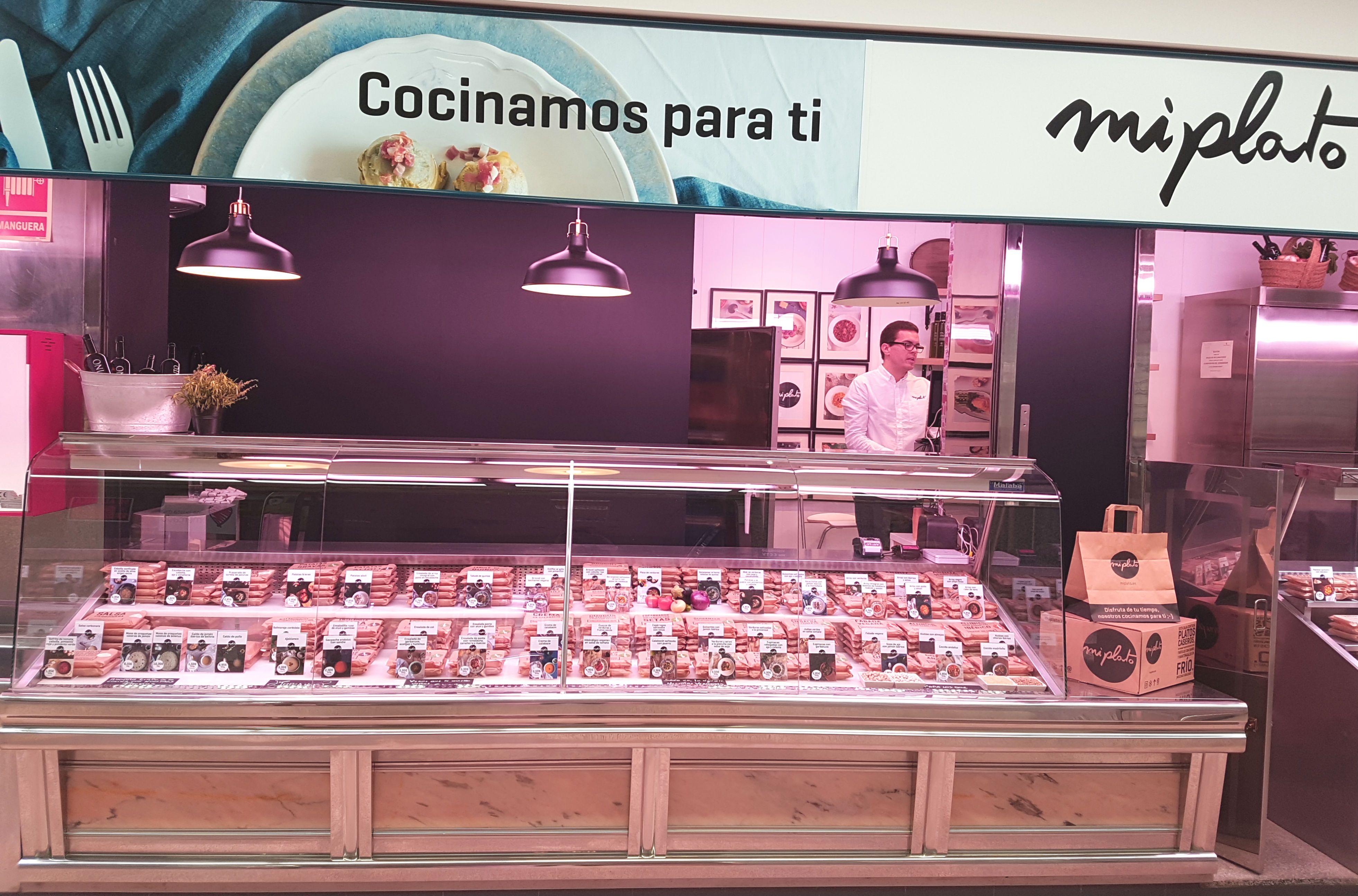Miplato En Madrid Sede En Mercado De Guzman El Bueno Envios A