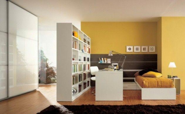 Explore Small Teen Bedrooms, Modern Kids Bedroom, And More! Raumtrenner  Ideen Raumteiler Vorhang Raumteiler Regal Weisse Deko Wand Regal Expedit  Ikea