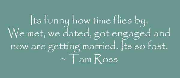 Its Funny How Time Flies By Quote By Tam Ross Love Quotes