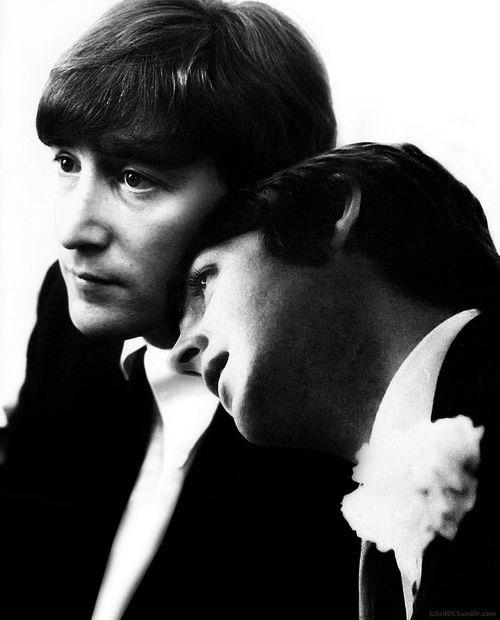 Linda imagem dos Beatles