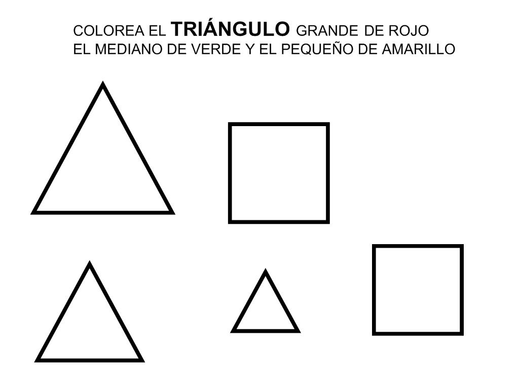 triángulos y tamaños | FORMAS Y CONCEPTOS MATEMATICOS | Pinterest ...