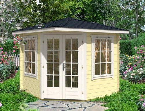 Eck Gartenhaus Modell Sunny-C