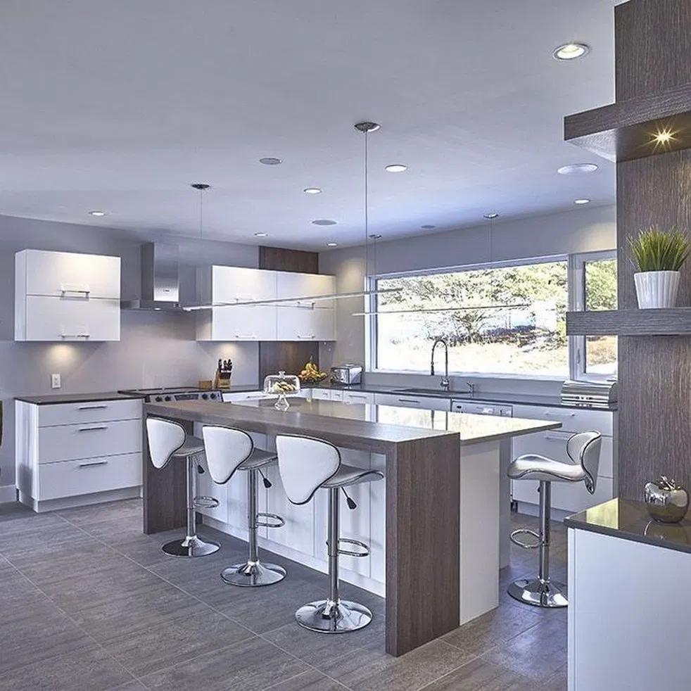 9+ sleek & inspiring contemporary kitchen design ideas keep ...