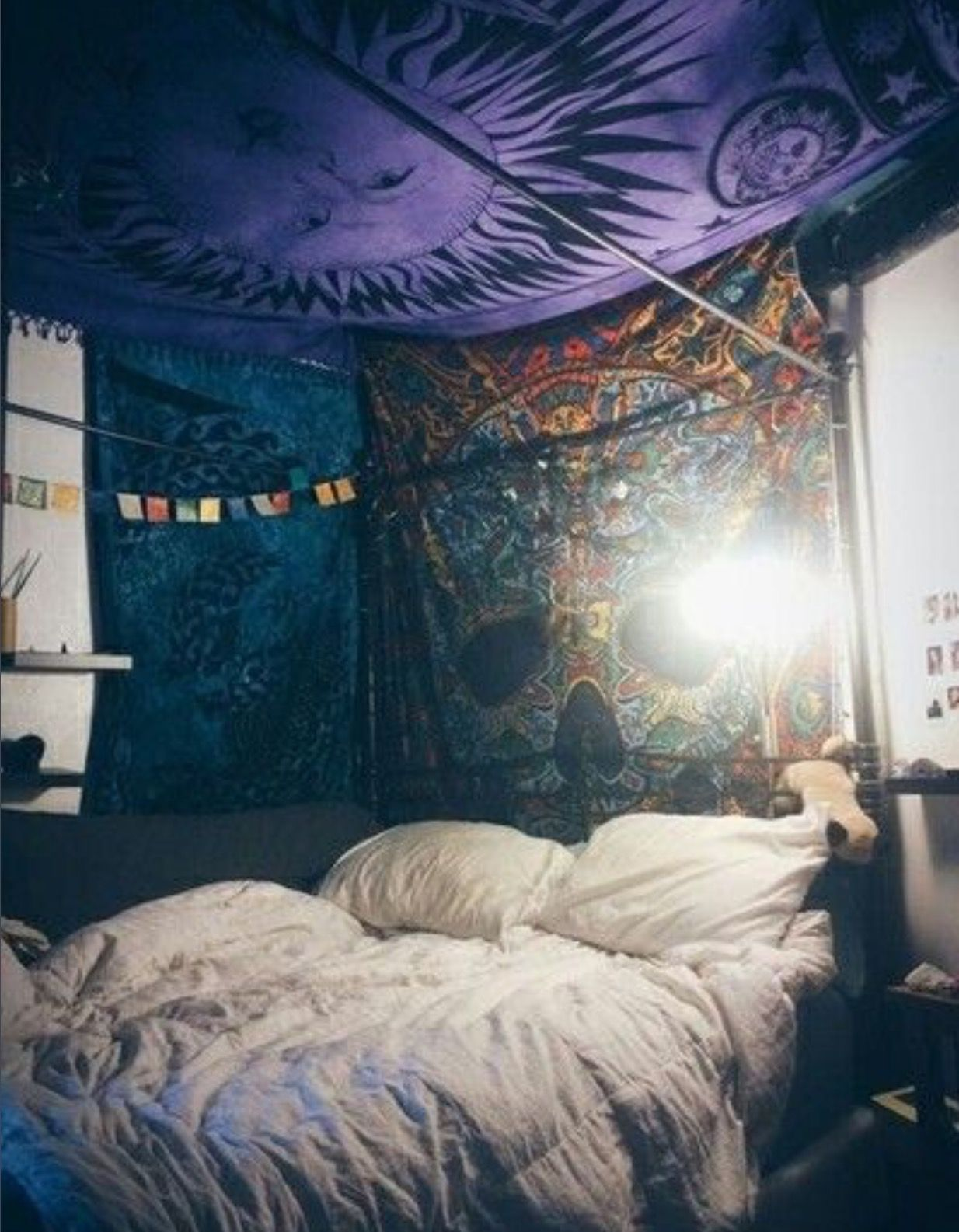 Not My Style But I Like How They Did The Tapestries