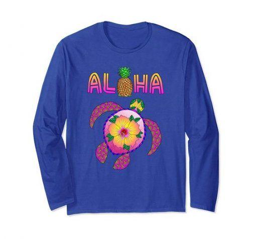 Aloha Honu Turtle Sweatshirt Di 2020