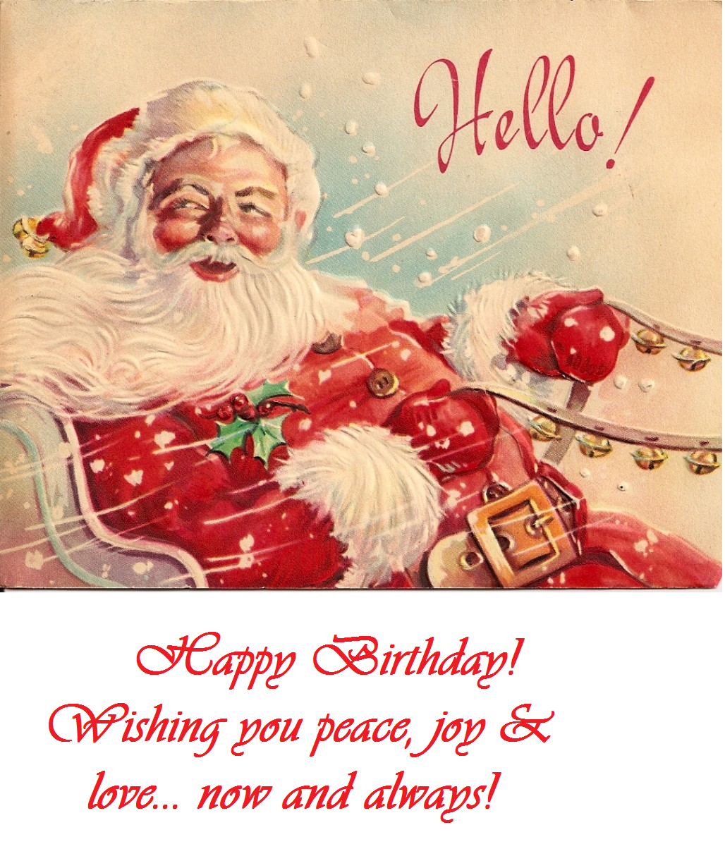Happy december birthday