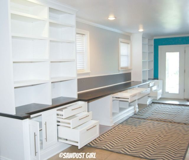 Craft Room Built In Furniture Systems