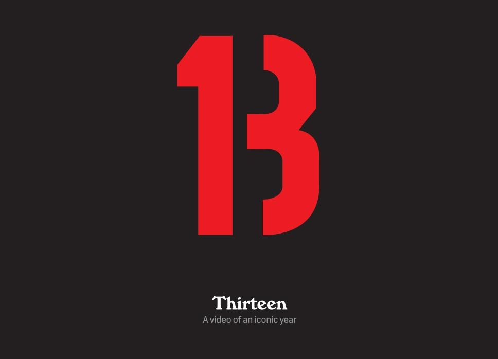 What's up with the 13?   #13things
