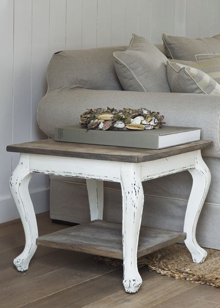 Riviera Maison Bijzettafeltjes.549 Driftwood Coffee Table 60x60 Living Interior