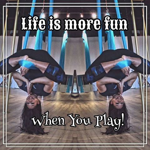 fit in aerial yoga play come hang out with us because