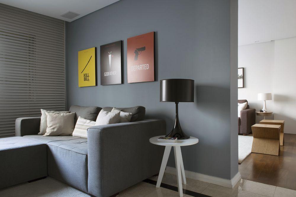Decora o cinza e azul pesquisa do google wall - Tom interiores ...