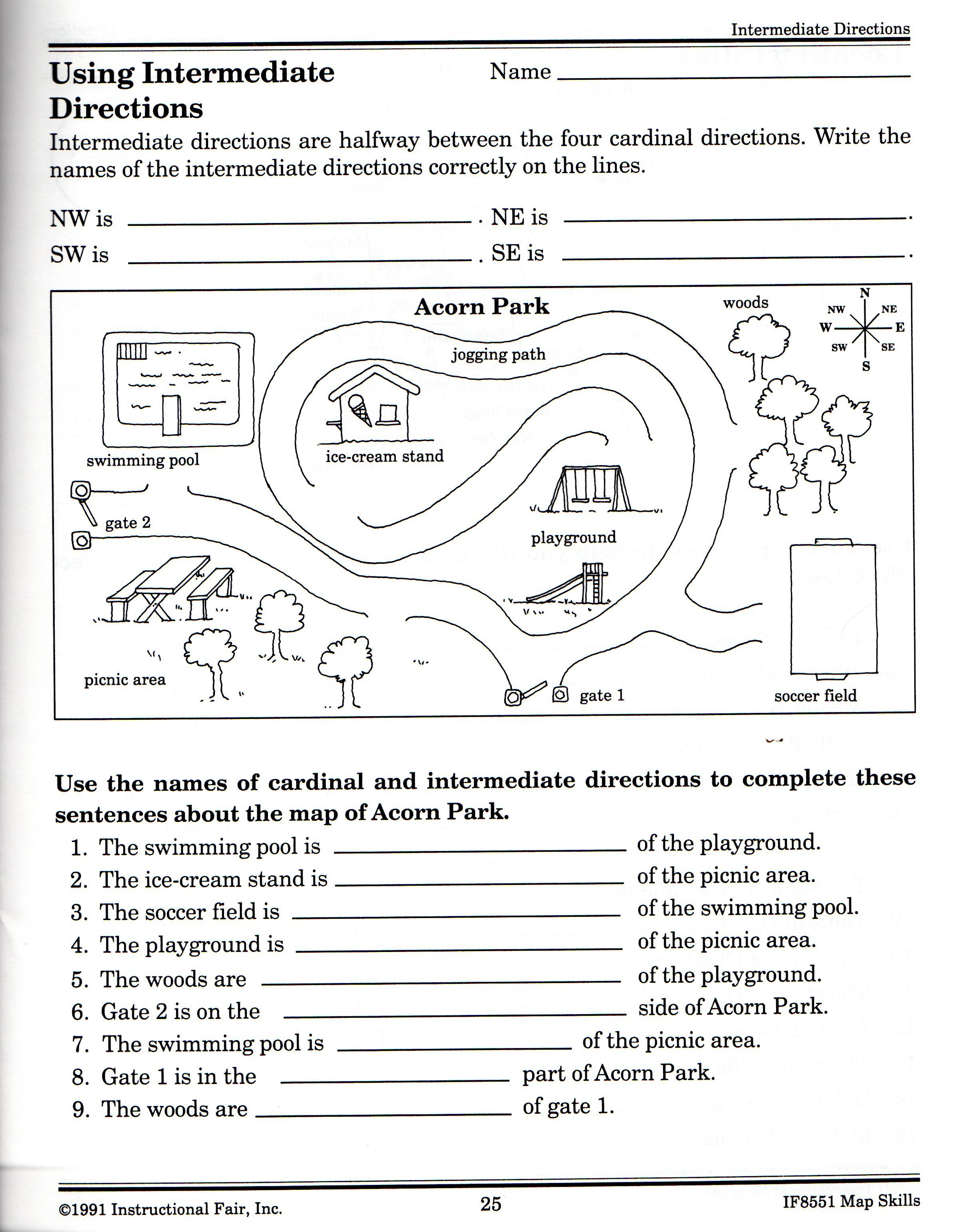 21 Awesome Following Directions Worksheet For You