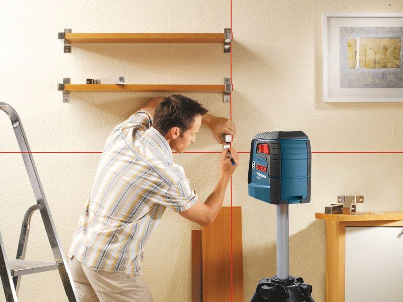 Bosch Gll 30 Self Leveling Cross Line Laser Ptr Laser Levels Red Beam Good House