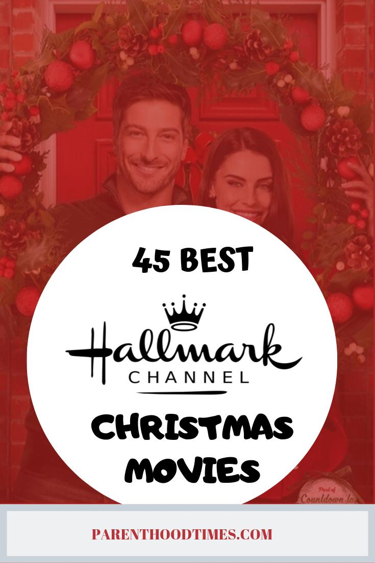 45 Greatest Ever Hallmark Christmas Movies. #hallmarkmovies #christmasmovies