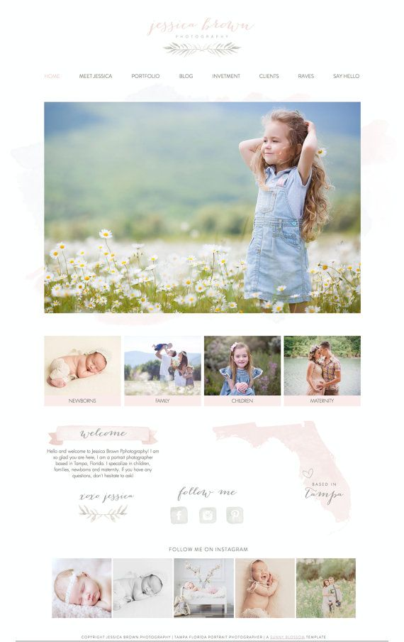 Wix Website design, website template, photography website design ...