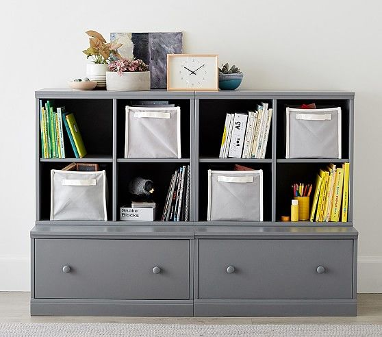 Cameron 2 Cubby Amp 2 Drawer Base Storage System Drawers