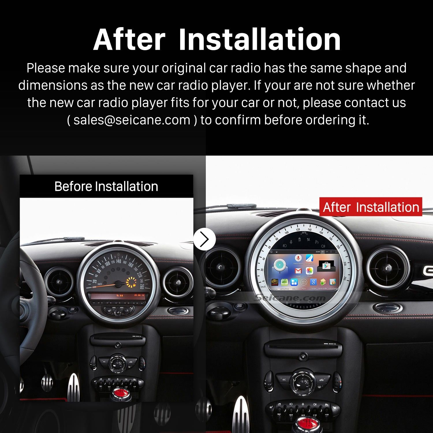 Image Result For Mini Cooper S Aftermarket Stereo