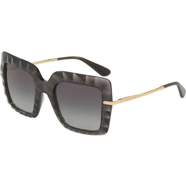 Dolce & Gabbana DG6111 504 / 8G, Plastic, Gray, Sunglasses