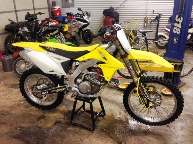 2011 Suzuki Rm Z450 Dirt Bike Yellow For Sale In Harrisonburg