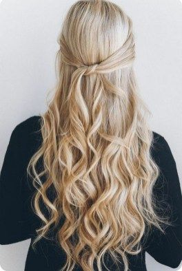 Half up half down hairstyles (134)