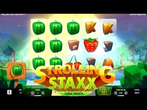Spiele Strolling Staxx Cubic Fruits - Video Slots Online